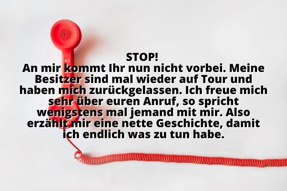 Lustige Anrufbeantworter Ansagen