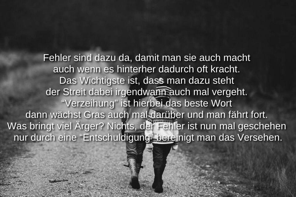 Fehler verzeihen Sprüche » sprueche.co