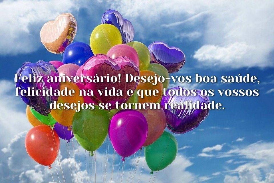 Spruch mit Bild auf portugiesisch zum Geburtstag