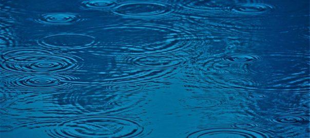 Regenpfütze Wasser