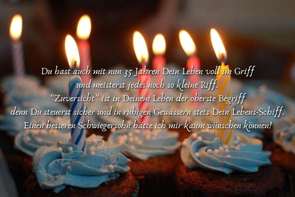 Glückwünsche zum Geburtstag Schwiegersohn