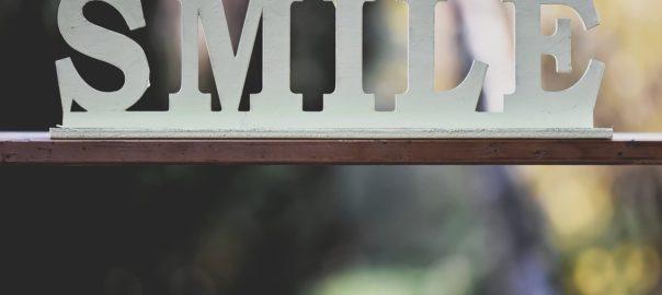 Buchstaben Smile