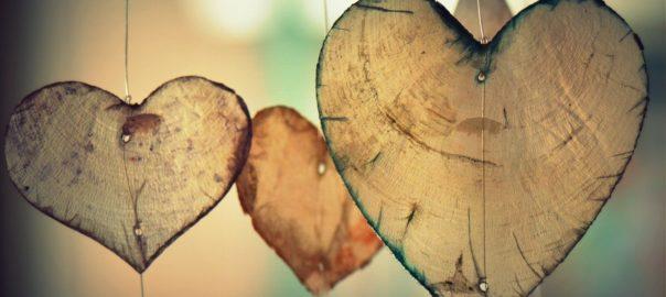 Du bist etwas Besonderes für mich Herz