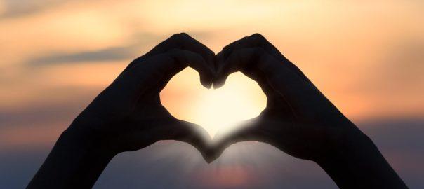 Du bist mir wichtig Herzform