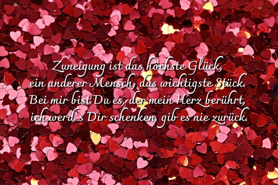 Spruch Herz Liebe Schatz