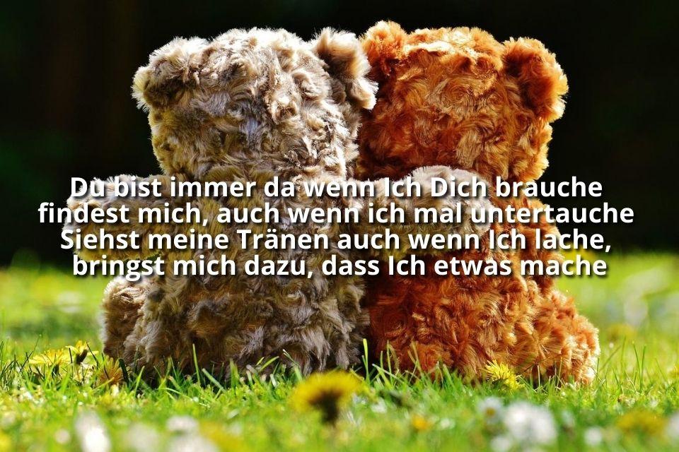 Bild Freundin gemeinsam Teddy