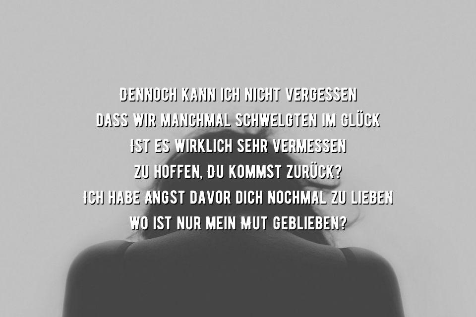 Angst verletzt zu werden Sprüche » sprueche.co