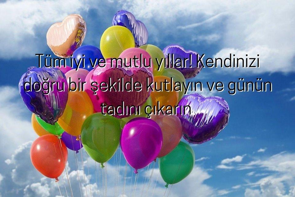 türkische Geburtstagswünsche mit schönem Luftballonbild