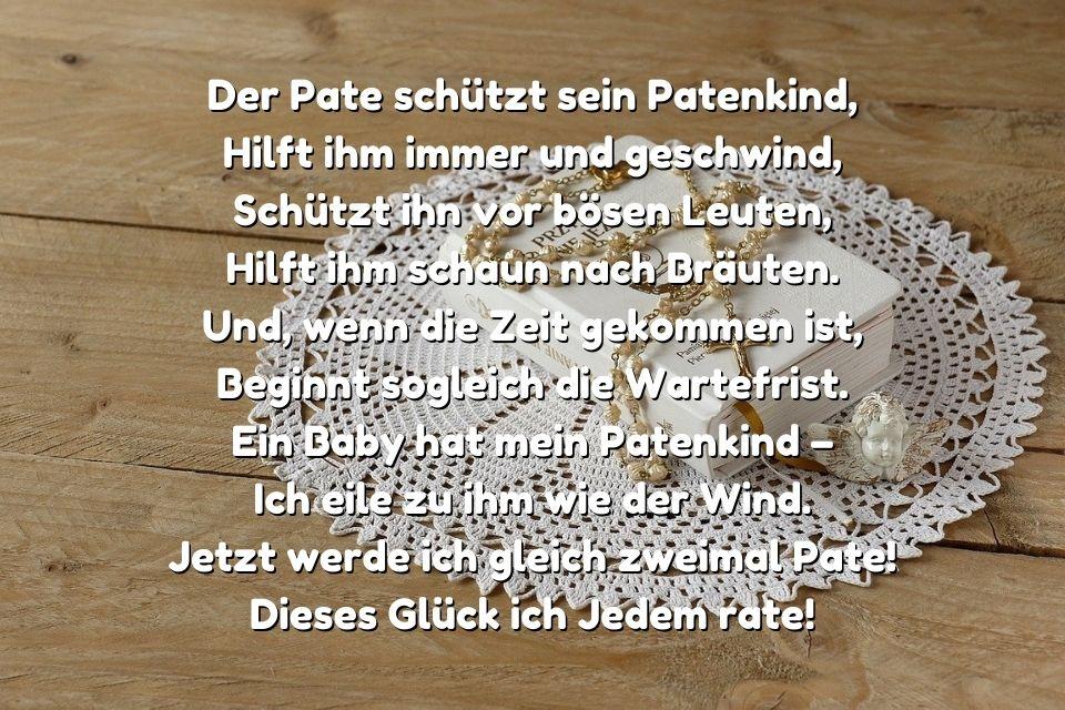 Glückwünsche zur Kommunion für das Patenkind » sprueche.co