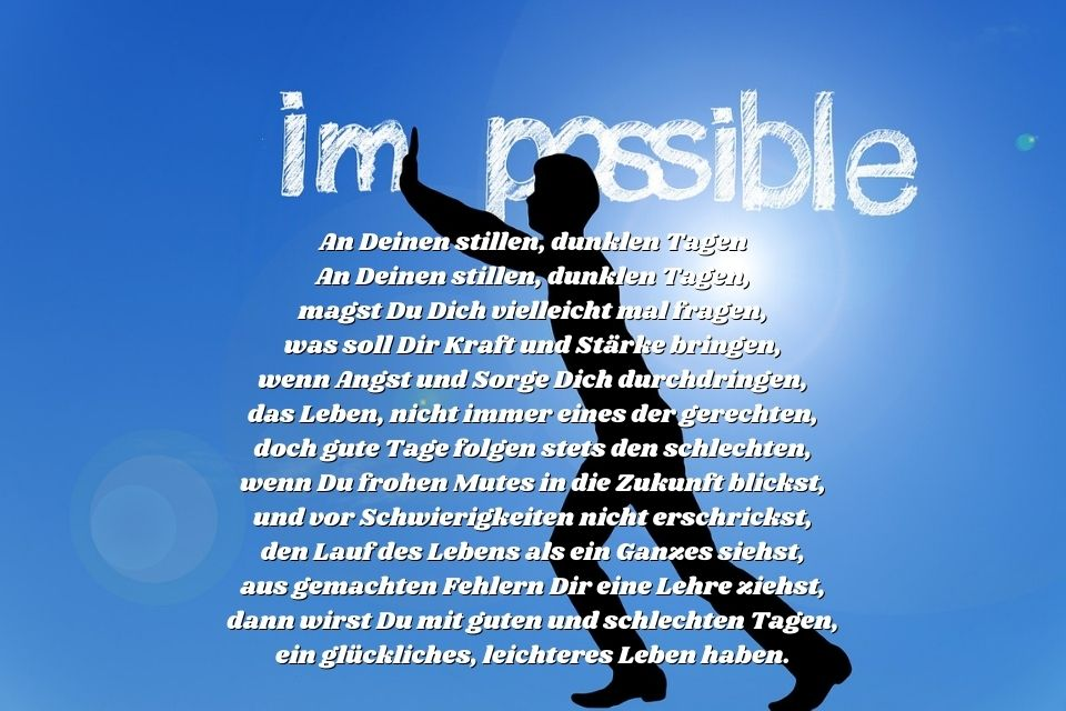 Nothing is impossiple