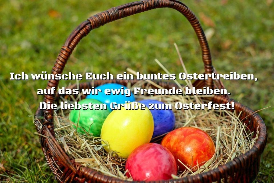 Frohe Ostern - Ostersprüche