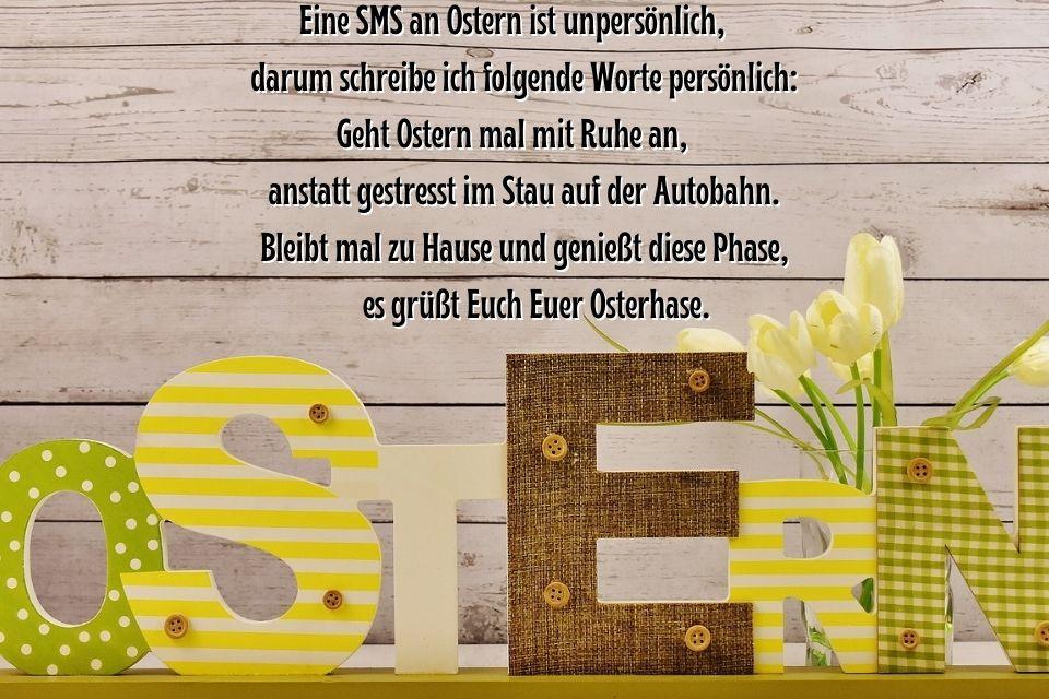 Liebe Grüße zum Osterfest - Ostergrüße