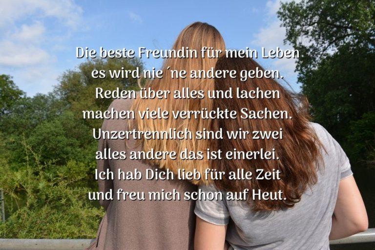 Süße Sprüche für die beste Freundin » sprueche.co