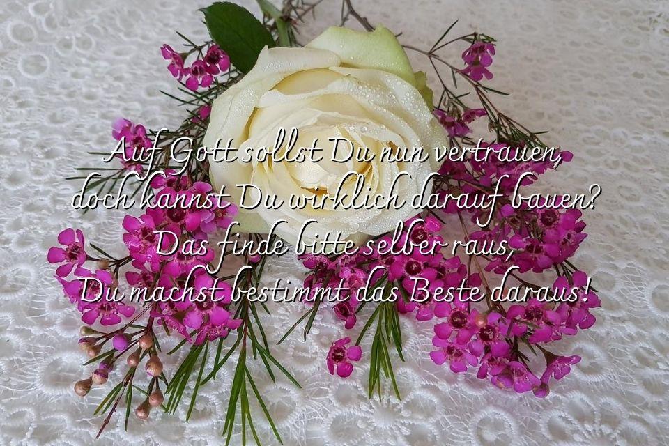 Spruch zur Konfirmation für Gästenuch