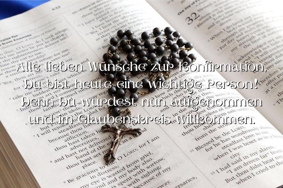 Konfirmation Gästebuch Spruch
